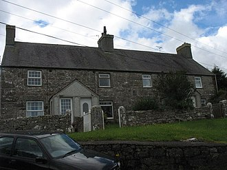 Marian-glas - Image: Henefail Cottages, Marian Glas geograph.org.uk 1192008