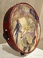 Henri de toulouse-lautrec, al circo, il cavaliere senza sella, olio su pergamena di un tamburello, 1888, 02.jpg