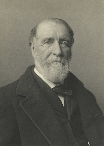 "English-born Henry Chadwick is often called the ""father of Baseball"". Henry Chadwick (NYPL b13537024-56451) (cropped).jpg"