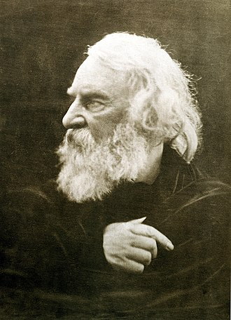 Henry Wadsworth Longfellow - Henry Wadsworth Longfellow photographed by Julia Margaret Cameron in 1868
