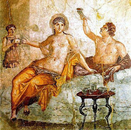 Im rom essen alten Wurde im