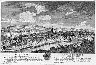 History of Bern - Bern in 1757