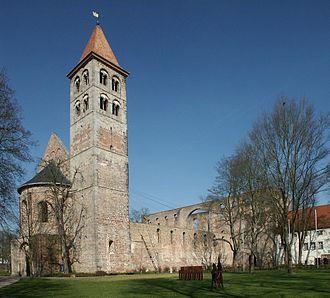 Lambert of Hersfeld - Hersfeld monastery church
