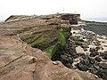 Hilbre Island's western cliffs - geograph.org.uk - 1399137.jpg