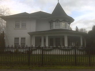 Albion, British Columbia - The Historic Hill House on 240th Street