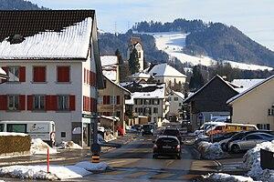Hinwil - Image: Hinwil Zürichstrasse IMG 7984