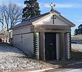 Holy Sepulchre Cemetery, Omaha, DiStefano mausoleum.jpg