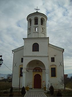 Holy Trinity's Church in Golemo Konjari