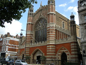 J. D. Sedding - Holy Trinity, Sloane Street, Chelsea, London