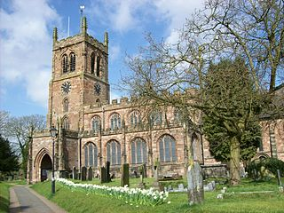 Grade I listed churches in Staffordshire Wikimedia list article