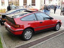 Honda Cr X Wikip 233 Dia