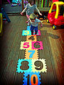 Hopscotch on foam board.jpg