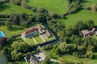 Peter Grant (music manager) - Horselunges Manor, Grant's Home in East Sussex