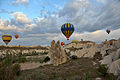 Hot air balloon ride at sunrise in Cappadocia.JPG