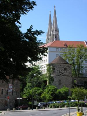 Lusatian League - Church towers in Görlitz.