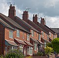 Houses on N end of Newton St, Macclesfield.jpg