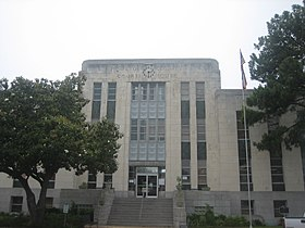 Houston County Courthouse in Crockett, TX IMG 1003.JPG