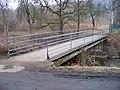 Hrdlořezy, Pod Smetankou, most k ulici U schodů (01).jpg