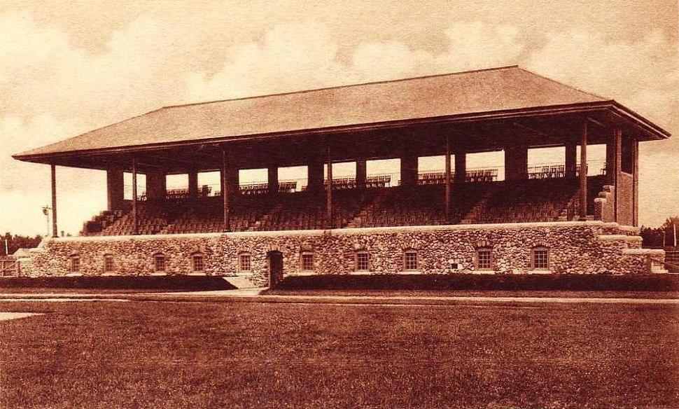 Hubbard Grandstand, Bowdoin College, Brunswick, ME