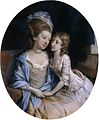Hugh Douglas Hamilton - Portrait of a Mother and Child.jpg