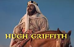 Hugh Griffith w trailerze filmu Ben-Hur