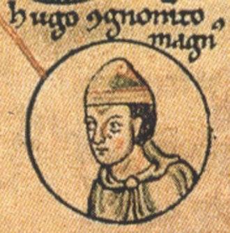 Hugh, Count of Vermandois - Hugh I of Vermandois