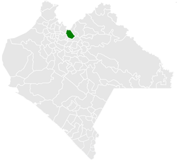Municipality of Huitiupán in Chiapas