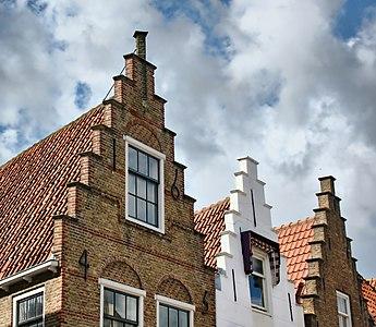 Stepped gables, Walstraat Vlissingen