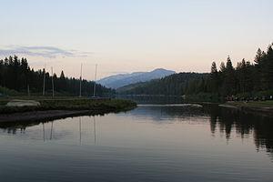Hume Lake - Image: Hume Lake View from Camp Shore