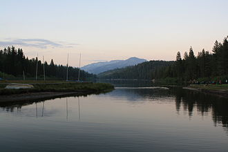 Hume Lake - Image: Hume Lake View from Camp Shore