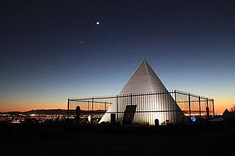 Hunt's Tomb - Hunt's Tomb overlooking Phoenix