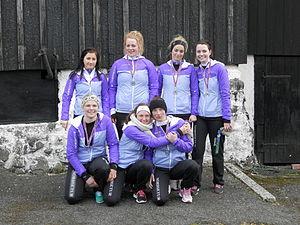 Hvessingur women 6-mannafor the crew of 2012.JPG