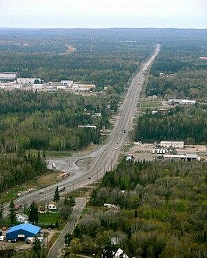 Ontario Highway 11 - Image: Hwy 11 North Bay