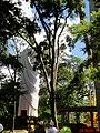 Içamento do Cristo Salvador de Sertãozinho. Içamento para o pedestal da estátua do Cristo que pesa 40 toneladas e mede 18 metros de altura em 24 de abril de 2013 às 11.45. A grandiosa obra foi feita de - panoramio.jpg