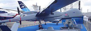 210 Squadron (Israel) - IAI Eitan at the 2007  Paris Air Show