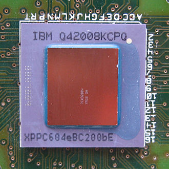 Central processing unit - IBM PowerPC 604e processor