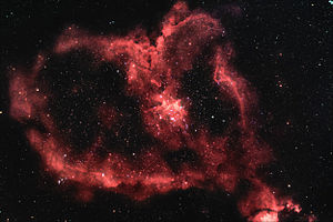 English: The Heart Nebula - IC1805