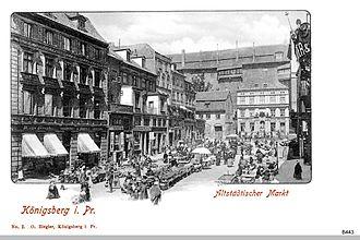 Altstadt (Königsberg) - Altstadt's marketplace