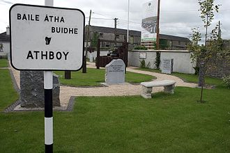 Athboy - Athboy, history pocket park