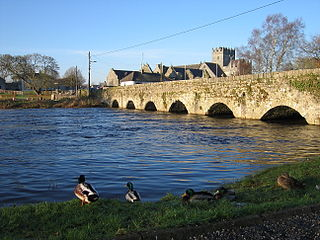 River Suir river in Ireland