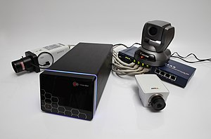 IP camera - A selection of IP cameras