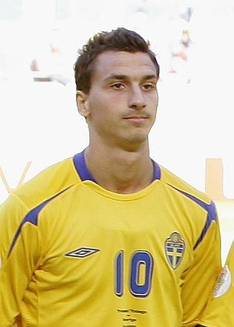 Guldbollen - Zlatan Ibrahimović, 2005 and 2007 through 2016 winner