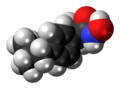 Ibuproxam molecule spacefill.png