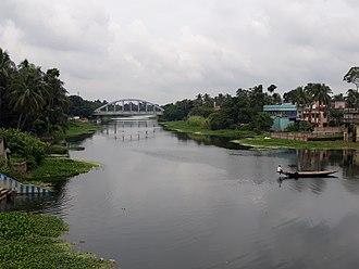 Ichamati River - Ichamati River at Bangaon town