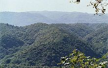 montagnes de l'Aspromonte en Calabre