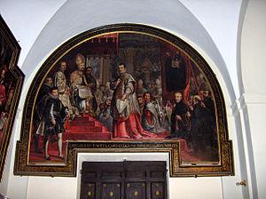 Ludovico Ludovisi - Pope Gregory XV and his nephew Cardinal Ludovico Ludovisi.