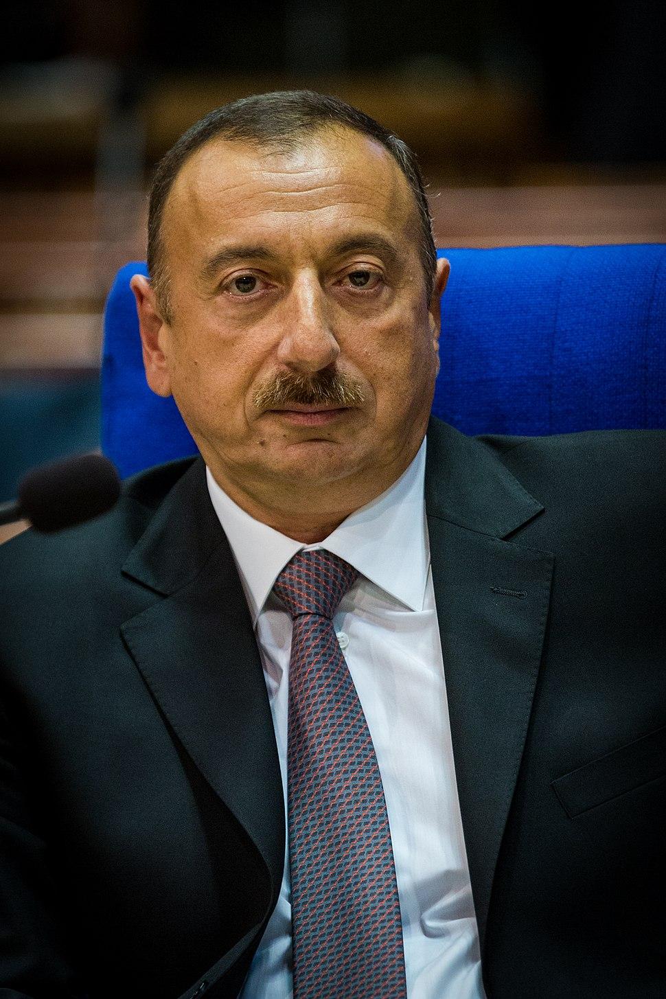 Ilham Aliyev par Claude Truong-Ngoc juin 2014