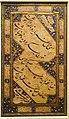 Illuminated panel of verse from Rubaiyat of Hafiz, Mir Ali al-Heravi, calligrapher, Iran, Safavid period, 16th century, Persian text in Nastaliq script, ink, gold, color on paper - Cincinnati Art Museum - DSC04240.JPG