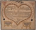 Illustrated family record (Fraktur) found in Revolutionary War Pension and Bounty-Land-Warrant Application File... - NARA - 300054.jpg