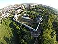 Imagine aeriană a Mănăstirii Zamca.JPG